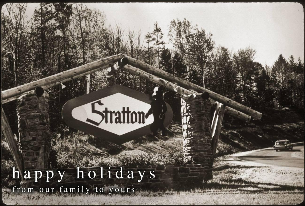 Stratton Mountain SIgn